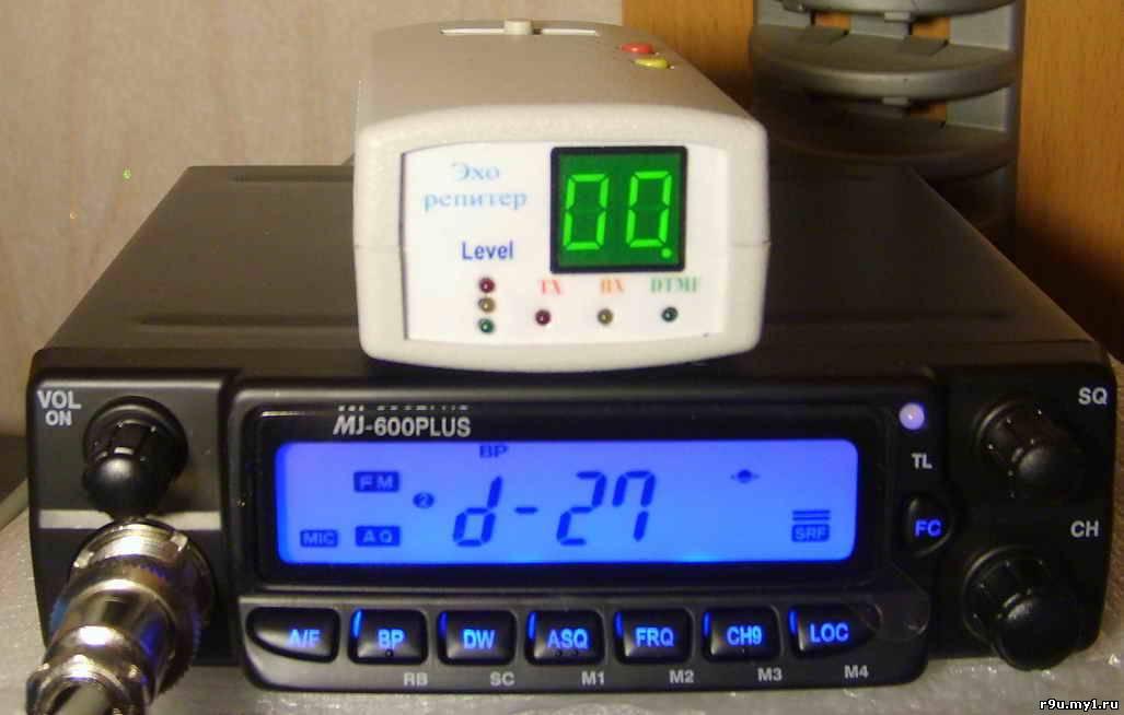 """Репитер  """"попугай """" или информатор, возможно подключение мной к любой СВ и УКВ радиостанции."""