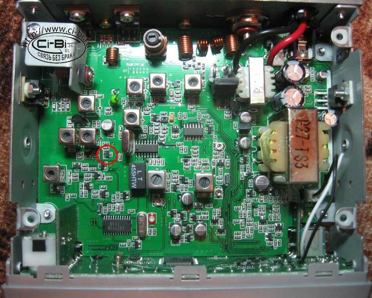 В радиостанции MegaJet-600
